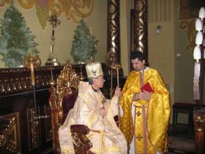 Свящ. Иван Лега и Владыка Иосиф Верт