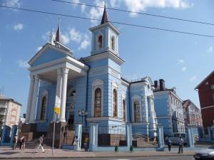 Католический храм в Казани