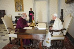 Встреча Бенедикта XVI и Роуэна Вильямса 21 ноября 2009 года