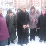 Епископ Иосиф Верт и участники встречи ветеранов