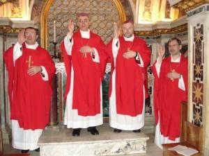 Российские епископы совершают Мессу в Риме