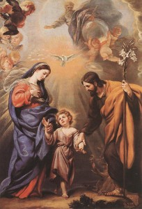 Клаудио Коелло. Святое Семейство.