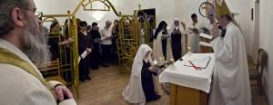 Во время литании всем святым