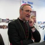 Архиепископ Антонио Меннини, Апостольский нунций в РФ, на праздновании 130-летия прихода св. Анны в Екатеринбурге