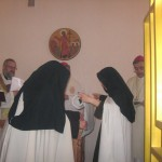 Consecration of Carmelite cloister in Novosibirsk