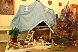 Рождественский вертеп в омутинском приходе