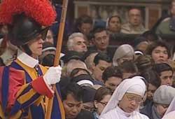 Вечерня Сретения Господня в Ватикане