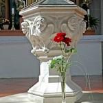 Купель, в которой был крещен Йозеф Ратцингер
