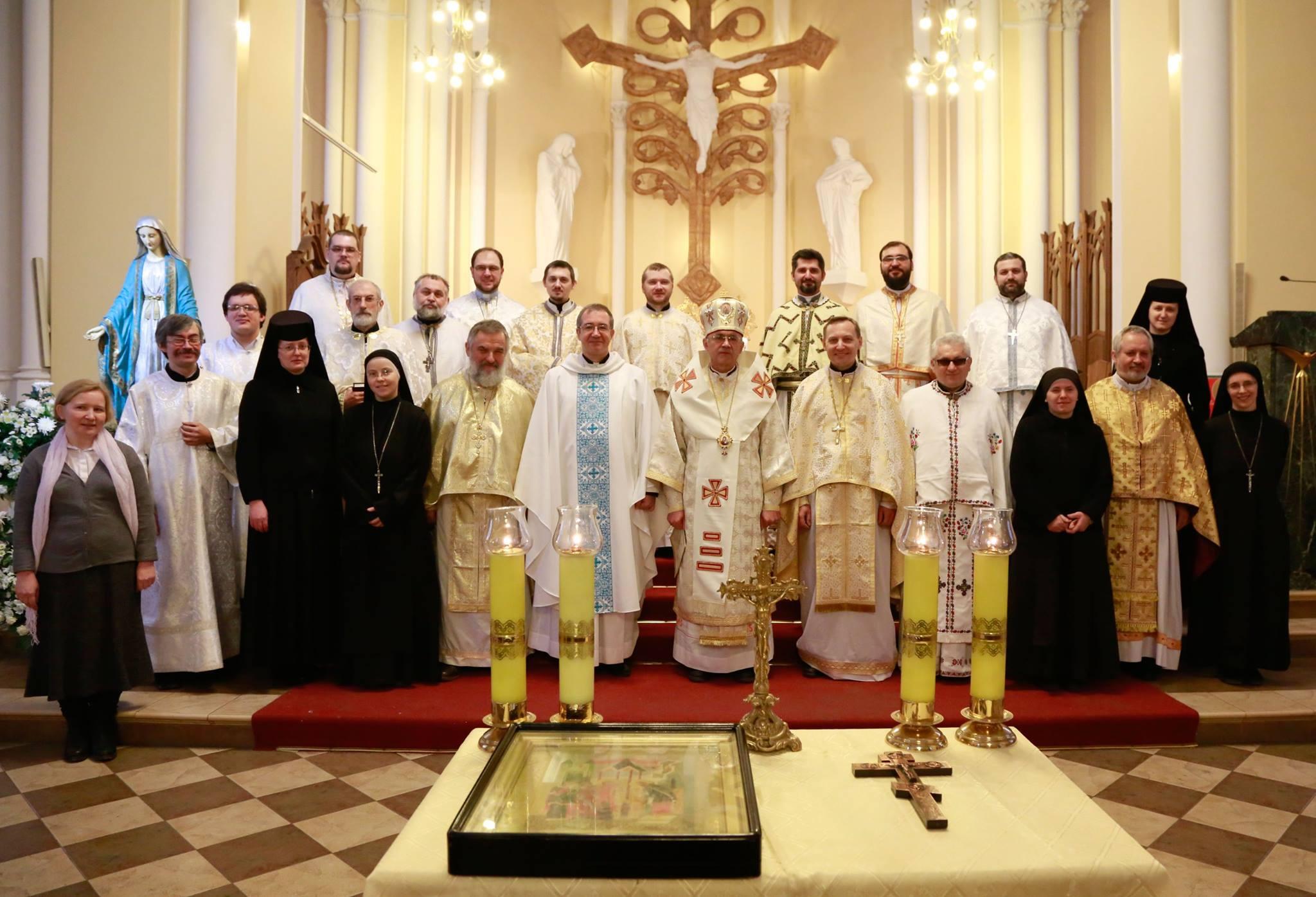 Встреча российского греко-католического духовенства в Москве