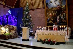 Богослужение Навечерия Рождества в Кафедральном соборе Новосибирска. 24 декабря 2014 г.