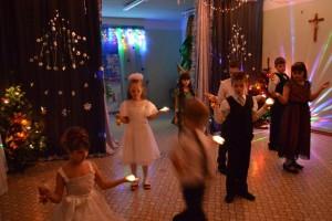 Празднование Рождества в Католической школе Новосибирска. 26 декабря 2014 г.