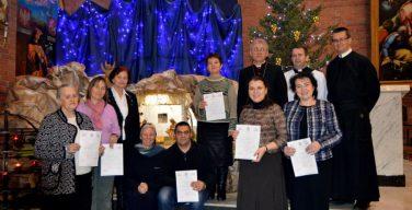 Выпускникам Епархиальной школы катехизаторов вручены Канонические миссии