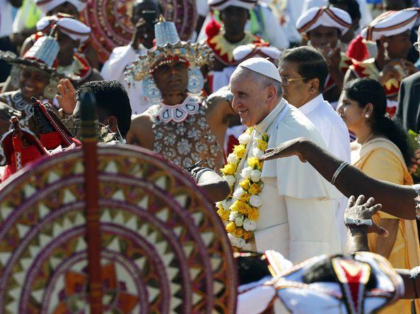 Начался Апостольский визит Папы в Азию