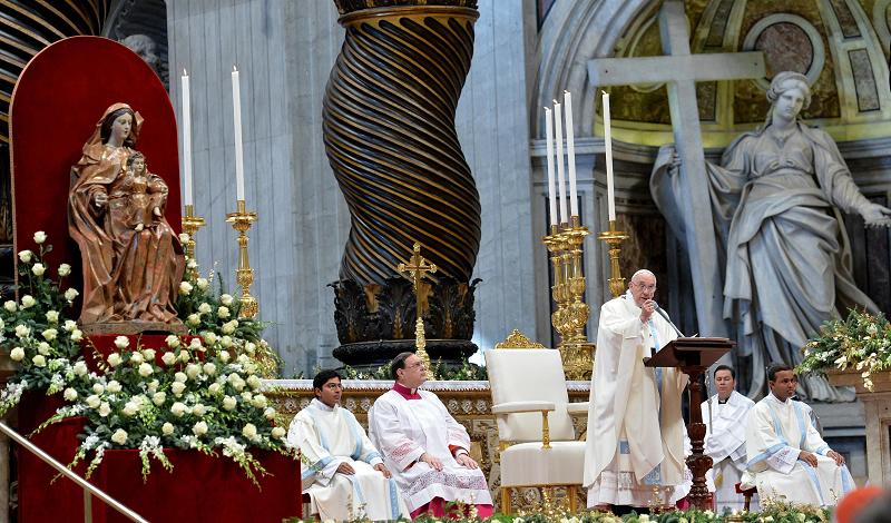 Торжество Богоматеринства в Ватикане