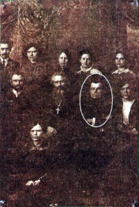 Отец Иосиф Усанис с преподавателями Женской гимназии. 1912 г.
