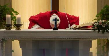 Папа христиане служат бескорыстно, не обольщаясь богатством