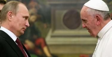 Жан-Мари Генуа: «Почему Путин снова едет к Папе Франциску?»