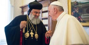 Единство Церкви как источник надежды. Встреча Папы Франциска с Патриархом Игнатиусом Афремом II