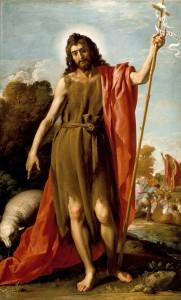 Хосе Леонардо. Святой Иоанн Креститель в пустыне
