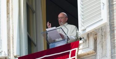 Воскресное размышление Папы Франциска перед чтением молитвы «Ангел Господень» 14 июня 2015 года