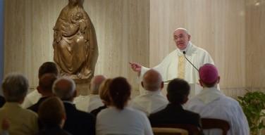 Папа: берегите сердце от «языческого шума»