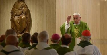 Папа: пастыри должны уметь не только говорить, но и слушать