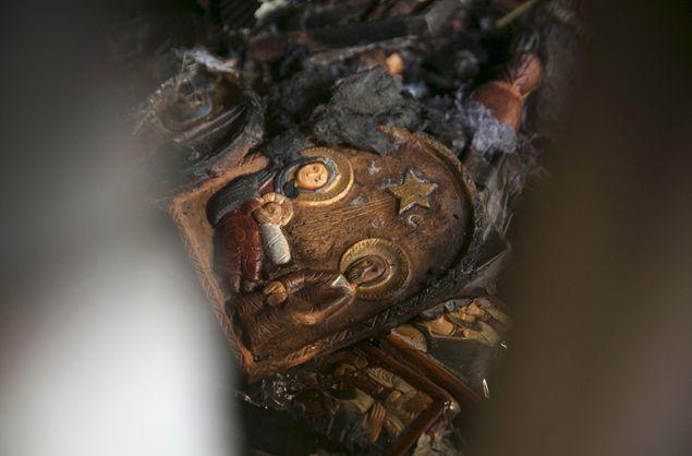Пожар повредил храм Умножения Хлебов на севере Израиля