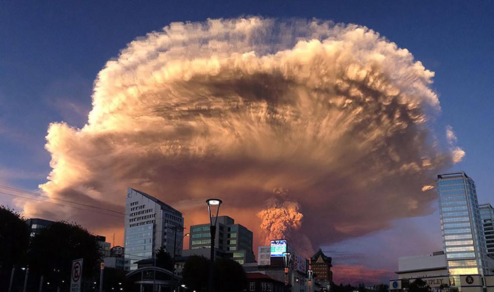 ЖИЗНЬ ПЛАНЕТЫ: Извержение чилийского вулкана Кальбуко (ВИДЕО)