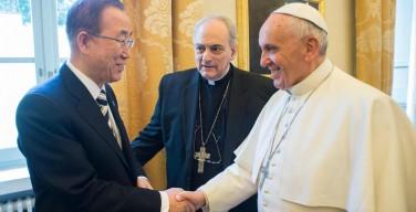 Мировые лидеры благодарят понтифика за энциклику