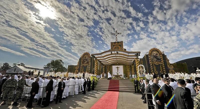 Папа Франциск в Парагвае. Хроника 11 и 12 июля 2015 года