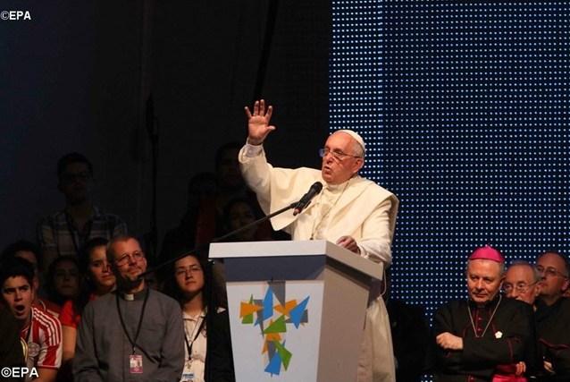 Не быть рабами фальшивой свободы. Обращение Папы к молодёжи Парагвая