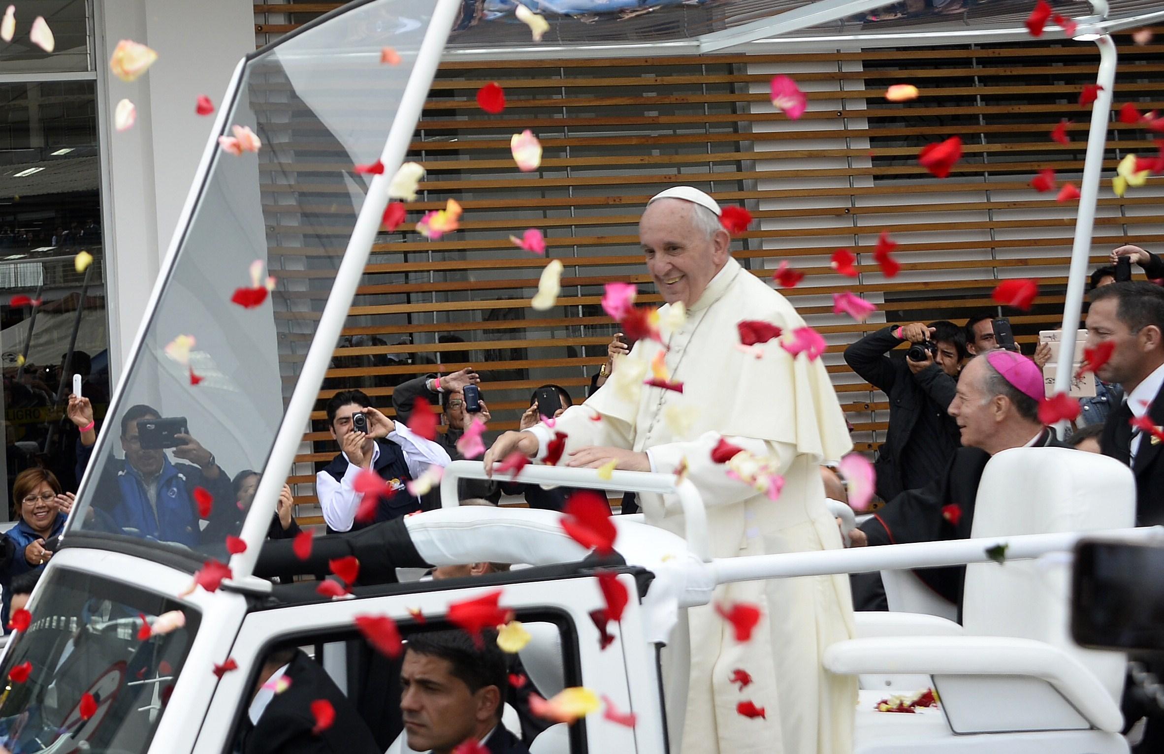 Папа в Эквадоре: встреча с епископатом и Святая Месса в Парке Бисентенарио