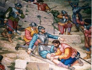 Ранение Иньиго де Лойола в Памплоне