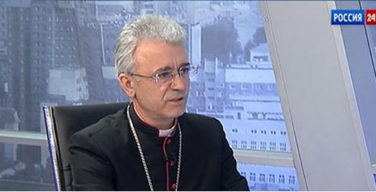 «Границы религиозности» (интервью епископа Иосифа Верта на канале «РОССИЯ 24»)