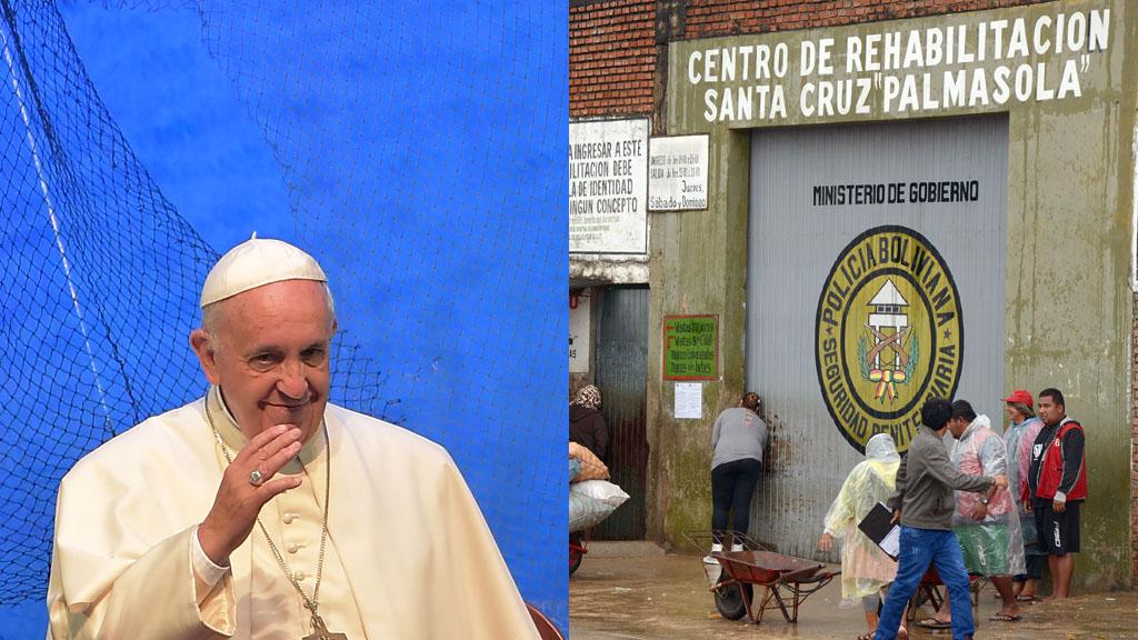 Последний день Папы в Боливии: посещение тюрьмы «Пальмасола» и встреча с молодыми заключенными