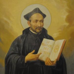 Святой Игнатий Лойола - основатель Ордена иезуитов