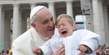 20 детских впечатлений с Папой Франциском