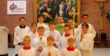 Встреча министрантов Преображенской епархии в Новосибирске