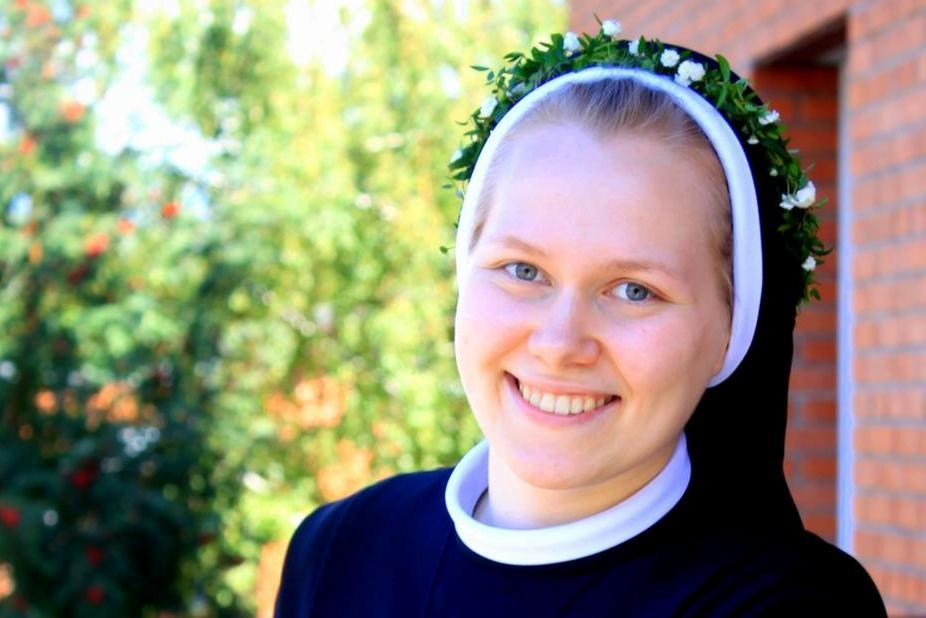 Первые монашеские обеты сестры Марии Эльжбеты