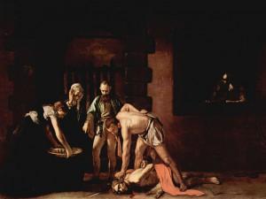 Караваджо. Усекновение главы Иоанна Крестителя