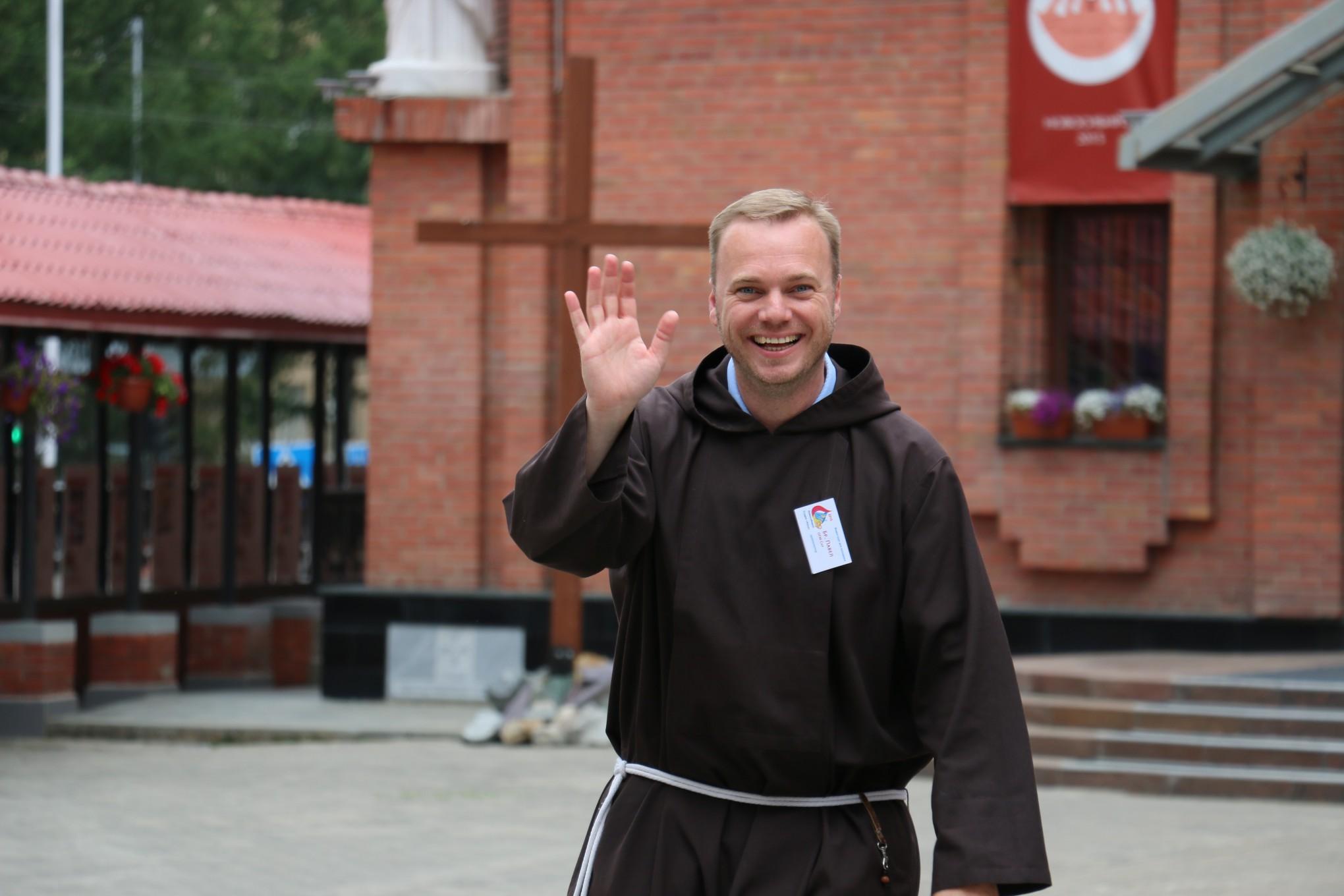 Брат Павел Теперский поделился фото- и видео-материалами VII Всероссийской встречи молодежи в Новосибирске