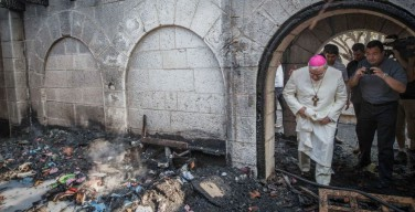 В Израиле монахи хотят навестить заключённых, которые подожгли их монастырь
