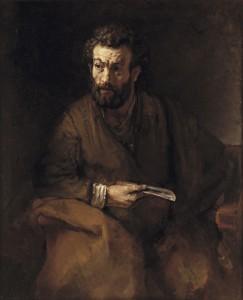 Рембрандт. Апостол Варфоломей