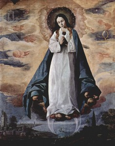 Франсиско Сурбаган. Жена облеченная в солнце