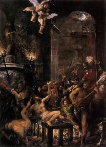 Тациан. Мученичество святого Лаврентия