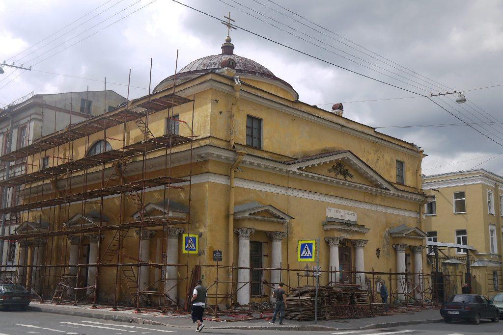 Новый лик старейшего католического храма России