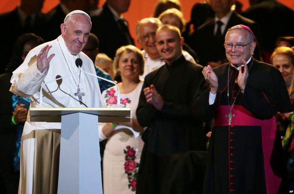 Папа Франциск на Всемирной встрече семей в Филадельфии