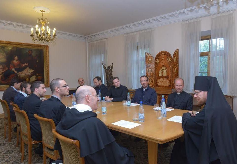 Общецерковная аспирантура РПЦ проводит занятия Летнего института для представителей Римско-Католической Церкви