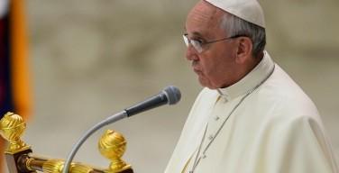 Папа: богослов — сын своего народа; нельзя разделять доктрину и пастырское служение