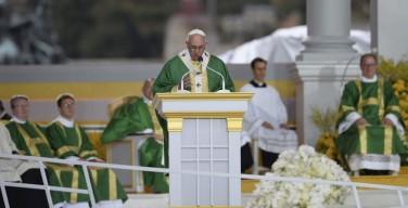Церкви нужна семья, а семье нужна Церковь. По следам апостольской поездки Папы Франциска в США